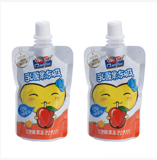 Plastic Stand-up Yogurt Packaging Bag