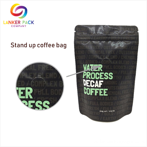 Laminated Printed Coffee Bags