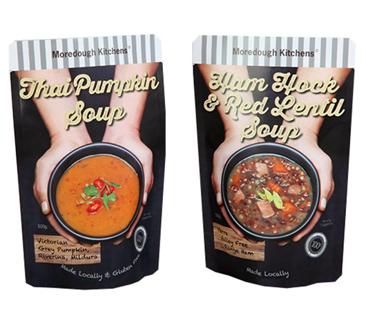 Stand Up Pouches For Soup, Sauce Bag